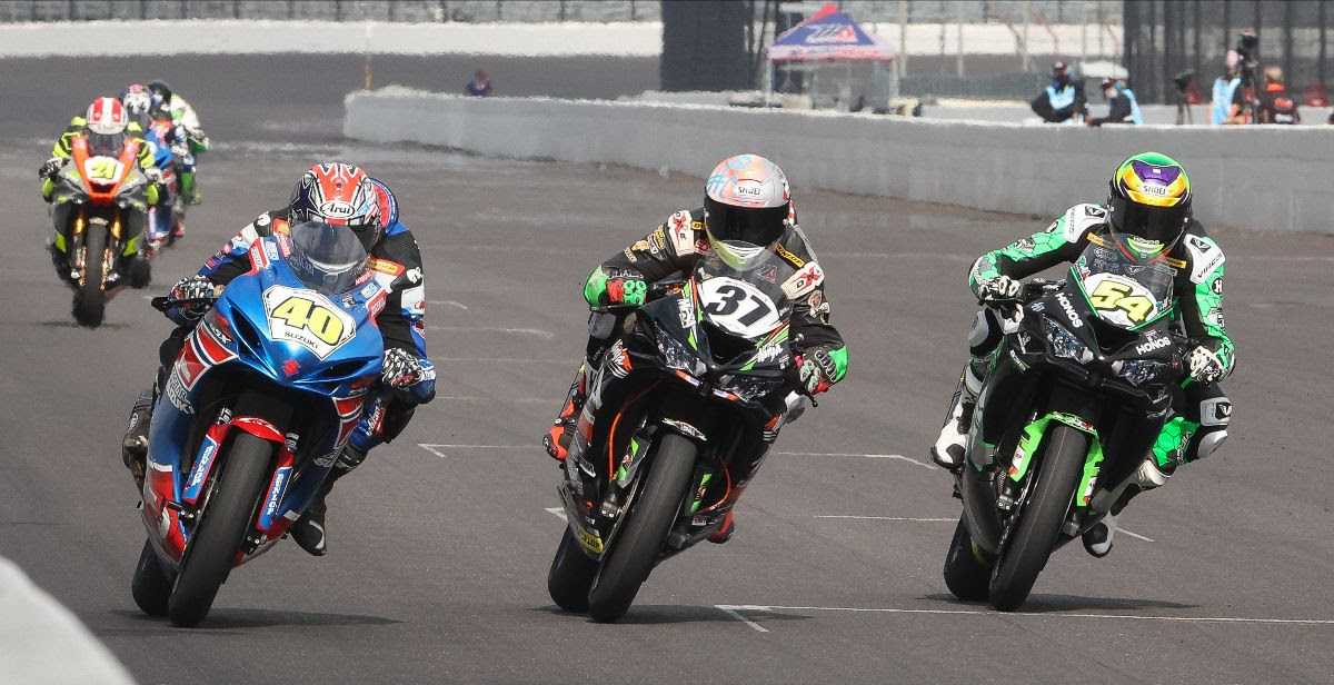 The 2021 MotoAmerica Supersport Series will air live on MAVTV with the Motorsports Network also adding additional MotoAmerica content to its popular programming schedule. Photo by Brian J. Nelson.